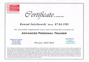 Adwanced Personal Trainer